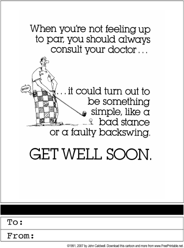 Feel better soon block letter coloring pages ~ Get Well Soon Printable Greeting Card